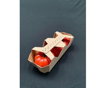 Bandejas de cartón con tapa para fruta   Servicios